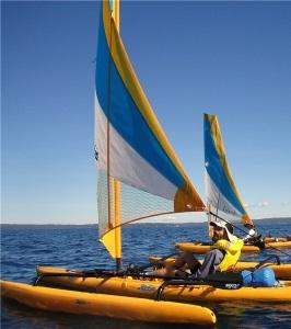 Sailing at Jervis Bay